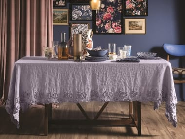 Linen tablecloth PETALI | Tablecloth