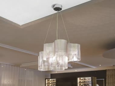 Stainless steel pendant lamp SMALL CLOUD N°30