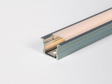 Aluminium linear lighting profile for LED modules PF030