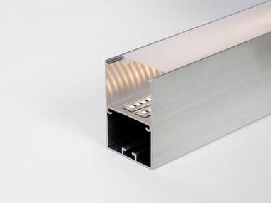 Aluminium linear lighting profile for LED modules PF100