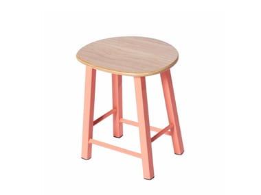 Low metal stool PG 10450405 | Low stool
