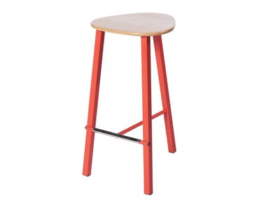 Barstool with footrest PG 10750510 | Stool