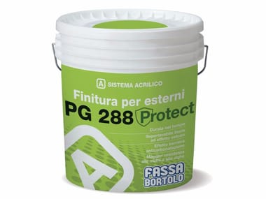 Finitura superlavabile liscia opaca PG 288 PROTECT