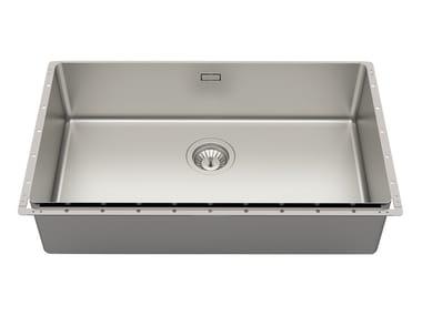 Built-in stainless steel sink PHANTOM EDGE 71X40 INOX