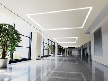 Lampada da soffitto a LED in alluminio a incasso PHANTOM   Lampada da soffitto a incasso