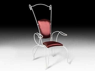 Wrought iron garden chair PHILO | Chair