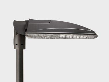 LED aluminium street lamp PHOS PLUS POLE SYSTEM