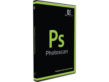 Photographic survey, photo-straightening PHOTOSCAN