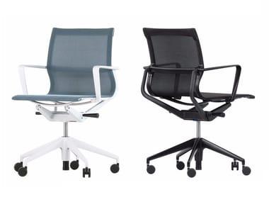 Cadeira operativa de 5 raios com braços PHYSI