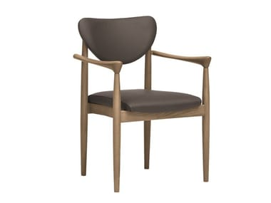 Chair with armrests PIA | CONTRACT | Chair with armrests