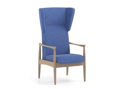 High-back fabric armchair PIA | HEALTH & CARE | High-back armchair