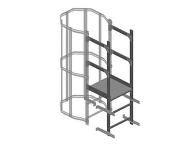Modulo per scala in alluminio PIANEROTTOLO DI SBARCO