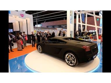 Rotating, moving platform for car ROTATING AND MOVING PLATFORMS | Rotating, moving platform for car