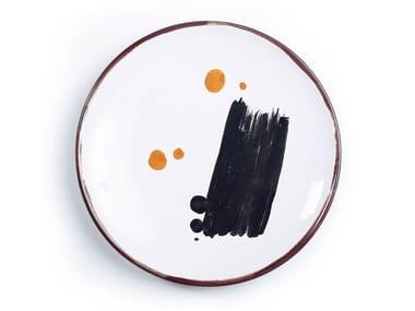 Set di piatti da portata in ceramica PIATTI D'AUTORE | Piatto piano