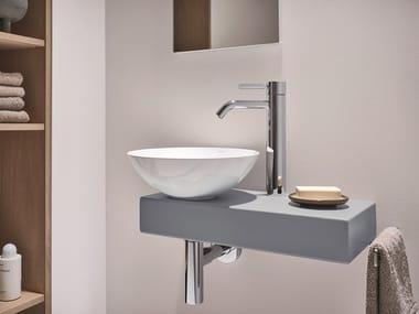 Lave-mains à poser en acier vitrifié PICCOLO NOVO