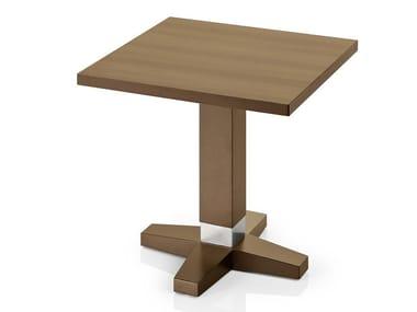 Tavolino quadrato in legno PICO | Tavolino