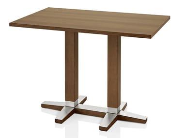 Mesa retangular de madeira PICO | Mesa retangular