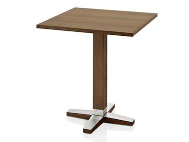 Mesa quadrada de madeira PICO | Mesa quadrada