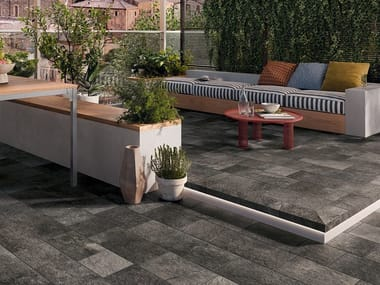 Porcelain stoneware wall/floor tiles with stone effect PIERRE DES REVES | Wall/floor tiles
