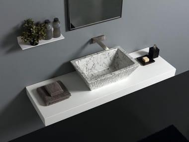 Ceramic washbasin PIETRA | Washbasin