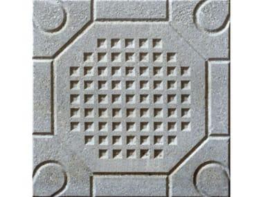 Pavimenti per esterni PIETRINO  Grigio a margherita