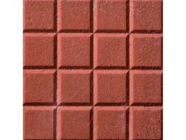 Pavimenti per esterni PIETRINO  Rosso 16 bugne