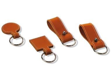 Tanned leather Keychain PIETRO | Keychain