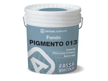 Fondo pigmentato per interni PIGMENTO 013
