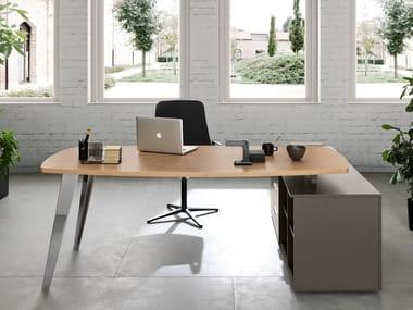 Wooden office desk PIGRECO | Office desk