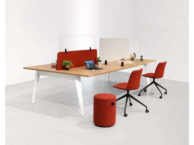Multiple office workstation PIGRECO | Office workstation