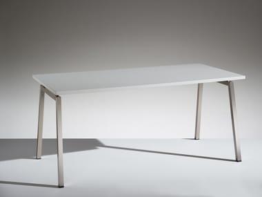Modular rectangular meeting table PIKAPPA