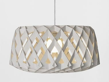 Plywood pendant lamp PILKE 60