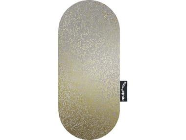 Glass Decorative panel PILLOLA - KAKI GOLD