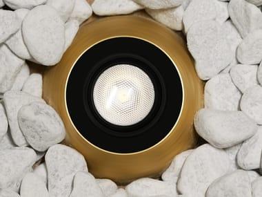Segnapasso a LED a pavimento in alluminio anodizzato PILZ UPLIGHT