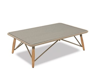Tavolino da giardino rettangolare in corda PIMLICO | Tavolino rettangolare