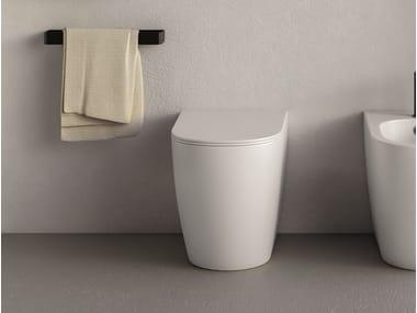 Wc in ceramica a pavimento PIN | Wc a pavimento