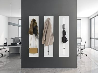 Wall-mounted wooden coat rack PIN HANG