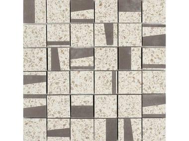 Mosaico in gres porcellanato PINCH | Mosaico Quad Beige