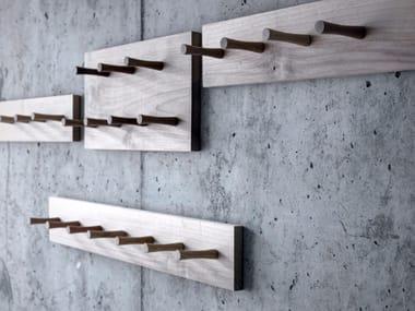 Solid wood coat rack PIOL