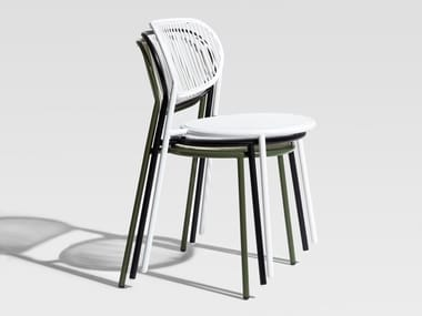 Stainless steel chair PIPER | Chair