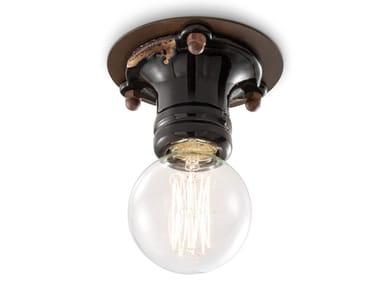 Lampada da soffitto in ceramica PIPES | Lampada da soffitto
