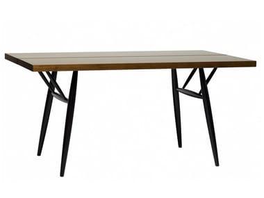 Rectangular wooden table PIRKKA | Rectangular table