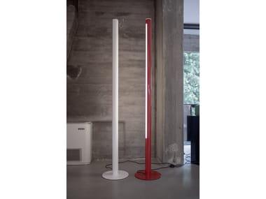Aluminium floor lamp PISTILLO | Floor lamp