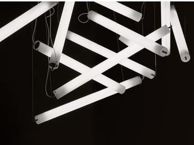 Methacrylate pendant lamp with dimmer PISTILLO | Pendant lamp