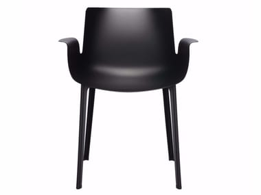 Chair with armrests PIUMA