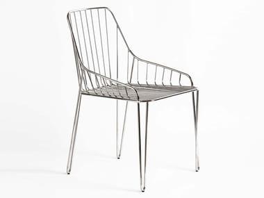 Metal garden chair PIUMA