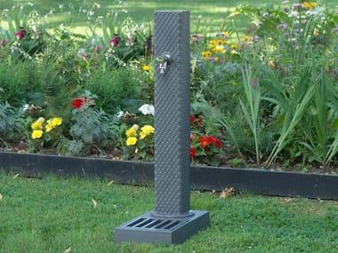 Fontana da giardino in metallo PIXEL | Fontana da giardino