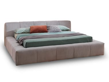 Upholstered fabric storage bed PIXEL BOX LARGE