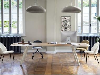 Mesa rectangular de madera PIXIE | Mesa rectangular