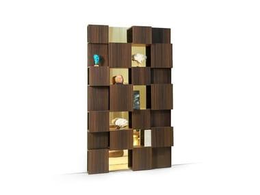 Lacquered bookcase PIXL | Bookcase